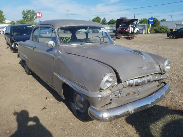 Plymouth salvage cars for sale: 1953 Plymouth Cranbrook