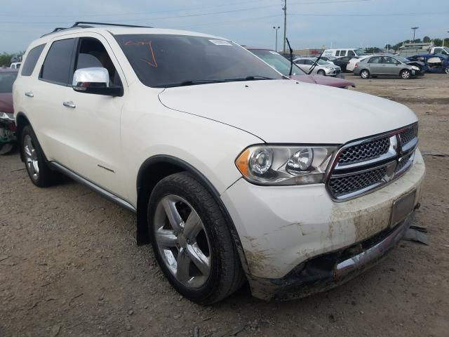 Salvage cars for sale from Copart Indianapolis, IN: 2011 Dodge Durango CI
