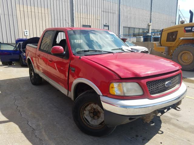 Salvage cars for sale from Copart Lawrenceburg, KY: 2001 Ford F150 Super