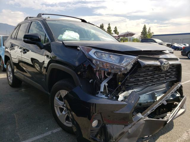 Salvage cars for sale from Copart Rancho Cucamonga, CA: 2020 Toyota Rav4 XLE