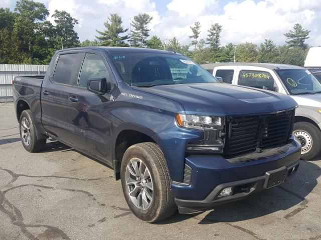 Salvage cars for sale from Copart Exeter, RI: 2020 Chevrolet Silverado