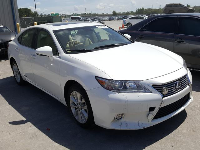 Salvage cars for sale from Copart Apopka, FL: 2015 Lexus ES 300H