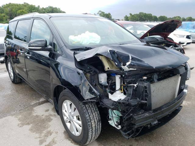 Salvage cars for sale from Copart Riverview, FL: 2018 KIA Sedona LX