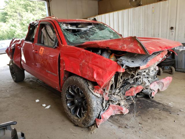 Salvage cars for sale from Copart Lyman, ME: 2018 Chevrolet Silverado