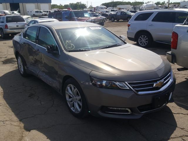 Salvage cars for sale from Copart Woodhaven, MI: 2018 Chevrolet Impala LT