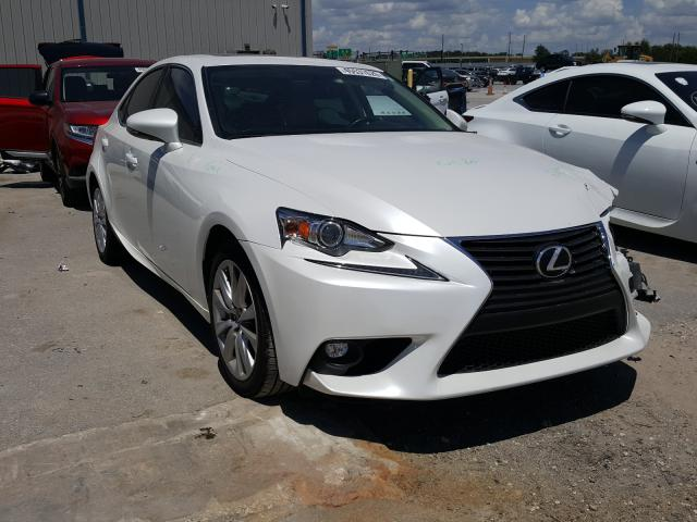 Salvage cars for sale from Copart Apopka, FL: 2016 Lexus IS 200T