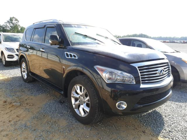 Infiniti QX80 salvage cars for sale: 2014 Infiniti QX80