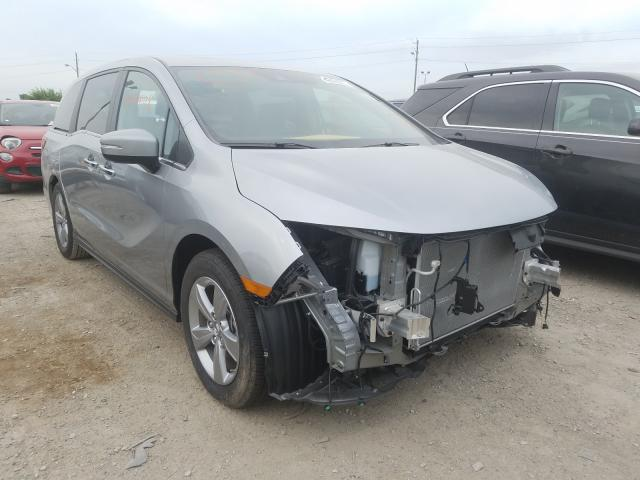 Salvage cars for sale from Copart Indianapolis, IN: 2019 Honda Odyssey EX