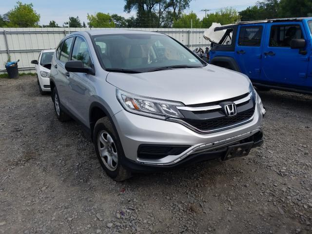 Honda CR-V LX salvage cars for sale: 2016 Honda CR-V LX
