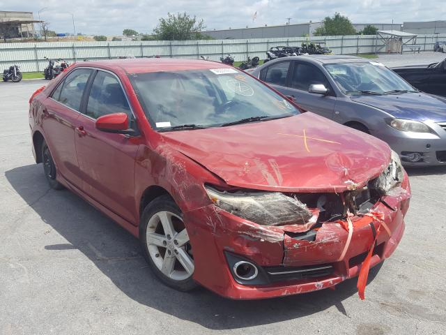 Salvage cars for sale from Copart Tulsa, OK: 2012 Toyota Camry Base
