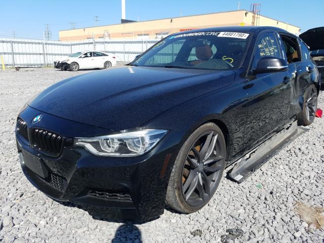 из сша 2016 BMW 340 XI WBA8B7C51GK368437