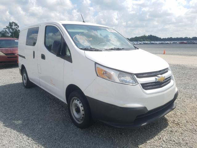 Salvage trucks for sale at Lumberton, NC auction: 2017 Chevrolet City Expre