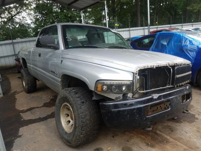 Salvage trucks for sale at Austell, GA auction: 2001 Dodge RAM 1500