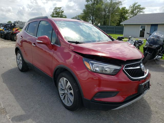 Buick salvage cars for sale: 2019 Buick Encore PRE