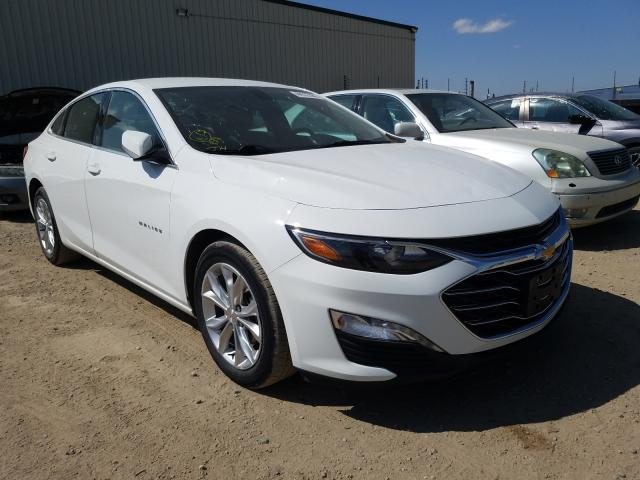 Chevrolet salvage cars for sale: 2019 Chevrolet Malibu LT