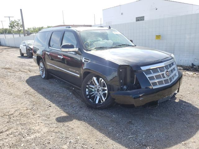 Salvage cars for sale from Copart Hammond, IN: 2014 Cadillac Escalade E