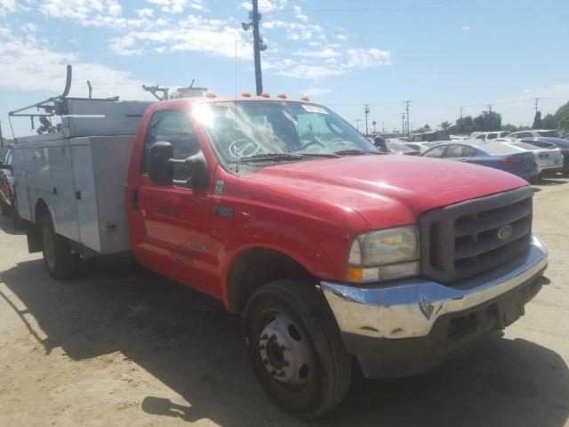 Ford F550 Super salvage cars for sale: 2004 Ford F550 Super