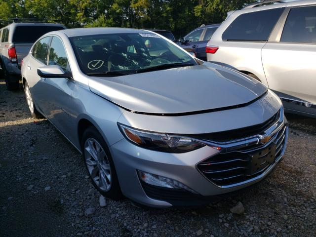 Salvage cars for sale from Copart Lexington, KY: 2019 Chevrolet Malibu LT