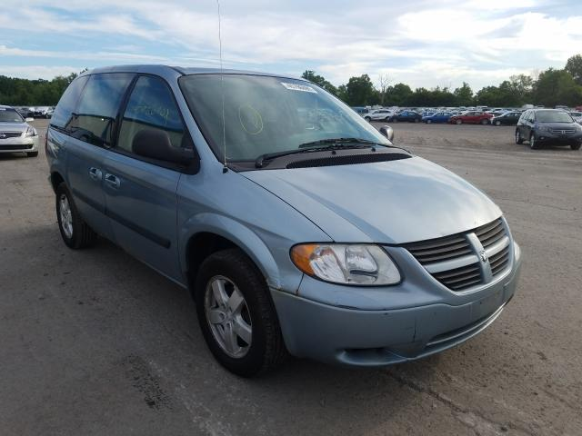 Salvage cars for sale from Copart Central Square, NY: 2006 Dodge Caravan SX