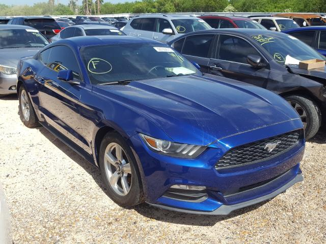 Salvage cars for sale from Copart Mercedes, TX: 2015 Ford Mustang