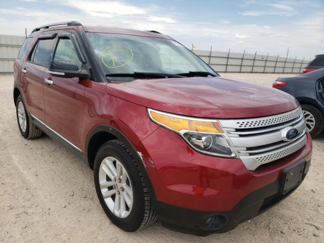 Salvage cars for sale from Copart Andrews, TX: 2014 Ford Explorer X