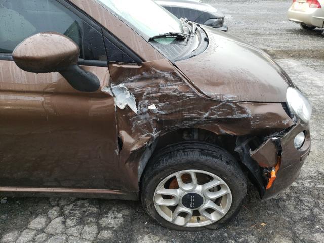 2012 Fiat 500 | Vin: 3C3CFFDR4CT321722