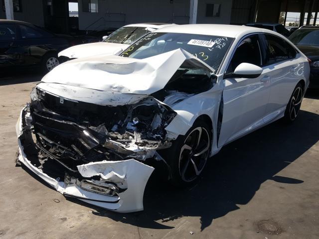 из сша 2018 Honda Accord Spo 1.5L 1HGCV1F37JA108747