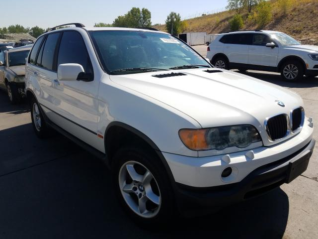 BMW salvage cars for sale: 2002 BMW X5 3.0I