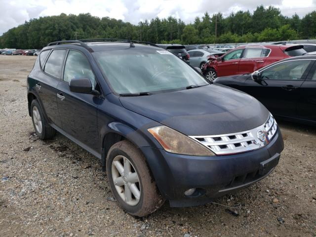 Salvage cars for sale from Copart Hampton, VA: 2004 Nissan Murano SL