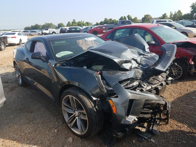Chevrolet Camaro LT salvage cars for sale: 2017 Chevrolet Camaro LT