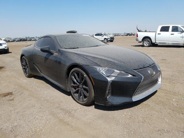 Lexus salvage cars for sale: 2018 Lexus LC 500