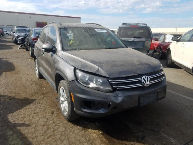 Salvage cars for sale from Copart Hayward, CA: 2016 Volkswagen Tiguan S