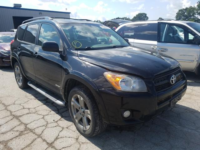 Salvage cars for sale from Copart Rogersville, MO: 2009 Toyota Rav4 Sport