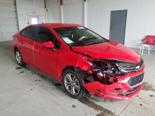 Salvage cars for sale from Copart Lexington, KY: 2018 Chevrolet Cruze LS
