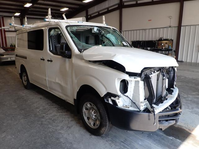 Salvage cars for sale from Copart Spartanburg, SC: 2018 Nissan NV 1500 S