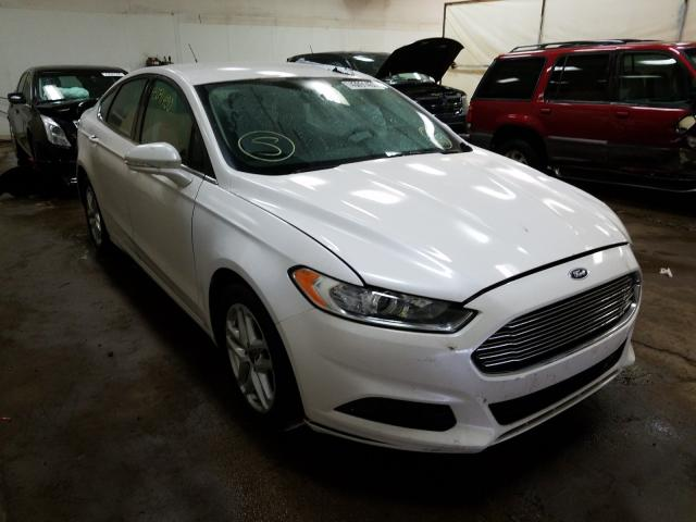 Salvage cars for sale from Copart Davison, MI: 2016 Ford Fusion SE