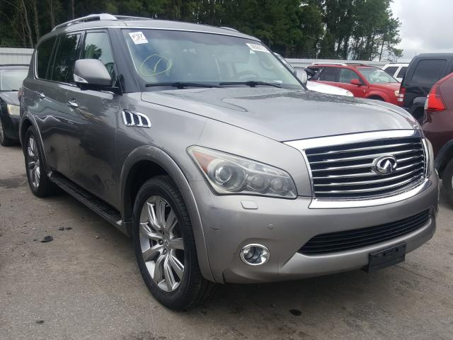 Infiniti QX56 salvage cars for sale: 2011 Infiniti QX56