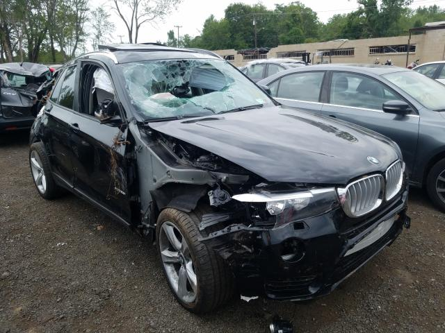 BMW X3 XDRIVE2 salvage cars for sale: 2017 BMW X3 XDRIVE2