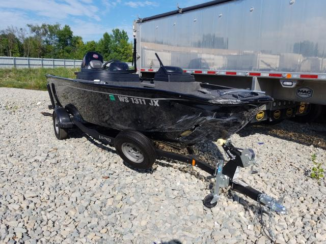 Salvage cars for sale from Copart Appleton, WI: 2020 Lund Boat