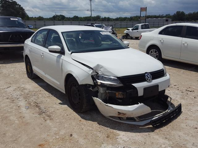Salvage cars for sale from Copart Newton, AL: 2011 Volkswagen Jetta SE