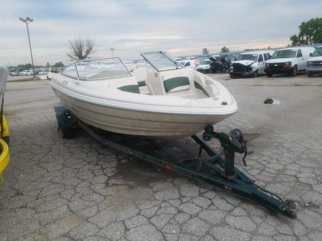 Boat salvage cars for sale: 2001 Boat W Trailer