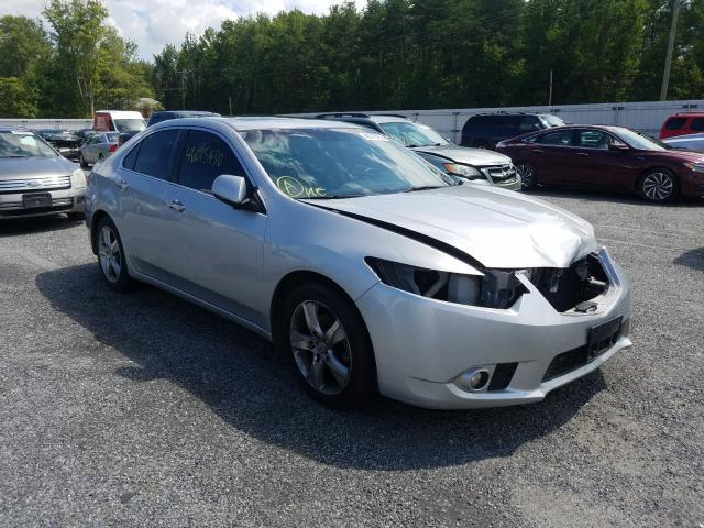 Salvage cars for sale from Copart Fredericksburg, VA: 2012 Acura TSX