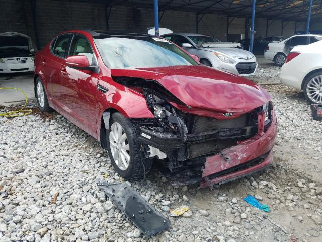 Salvage cars for sale from Copart Cartersville, GA: 2015 KIA Optima EX