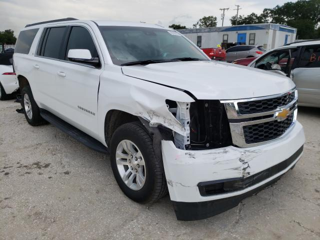Chevrolet Suburban C salvage cars for sale: 2019 Chevrolet Suburban C