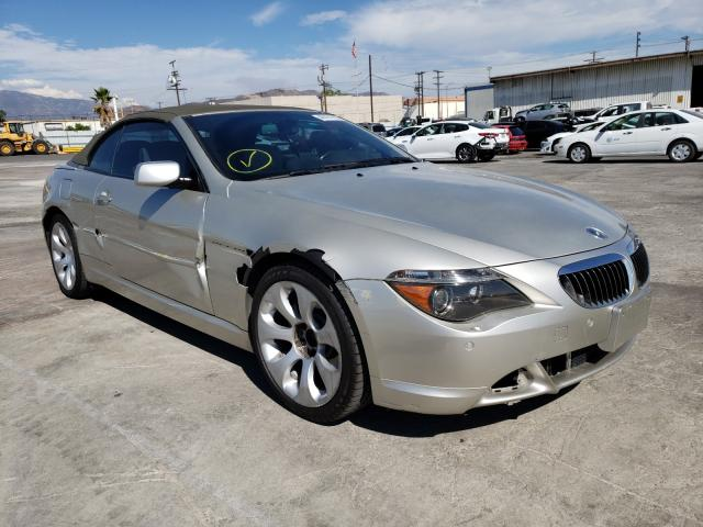 Salvage cars for sale from Copart Sun Valley, CA: 2006 BMW 650 I