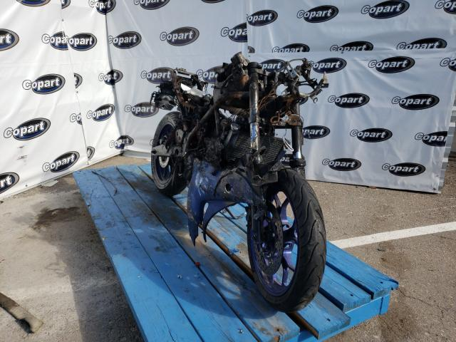 Salvage motorcycles for sale at Anthony, TX auction: 2015 Yamaha YZFR3