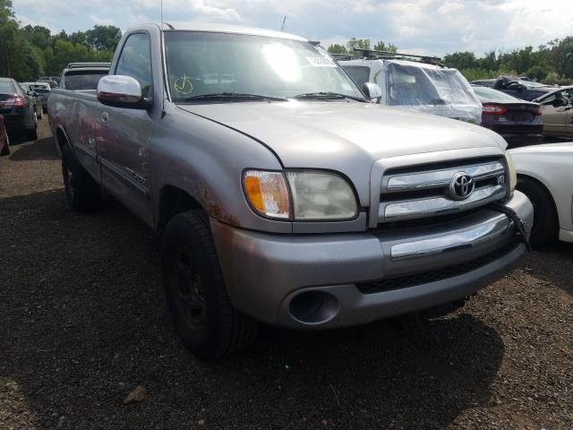 Toyota Tundra SR5 salvage cars for sale: 2003 Toyota Tundra SR5