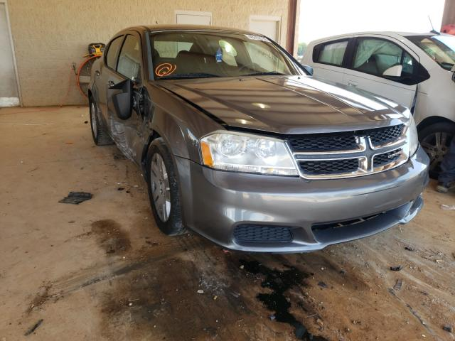 Salvage cars for sale from Copart Tanner, AL: 2012 Dodge Avenger SE