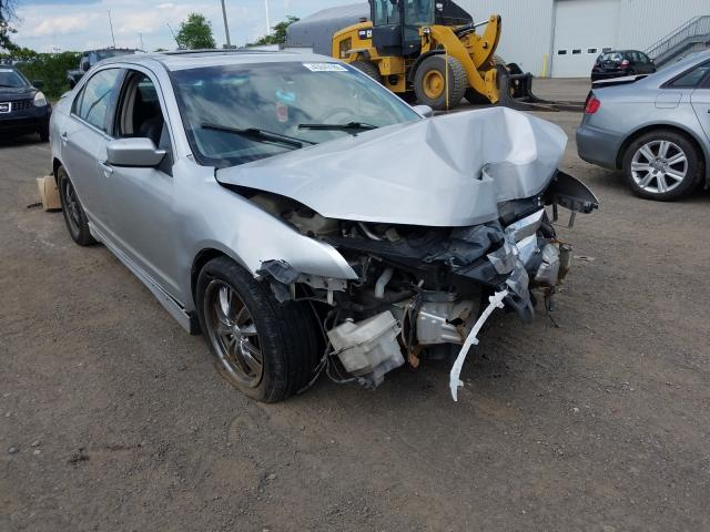 Salvage cars for sale from Copart Montreal Est, QC: 2010 Ford Fusion Sport