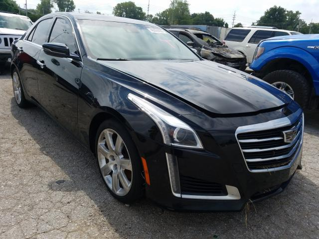 Salvage cars for sale from Copart Bridgeton, MO: 2015 Cadillac CTS Premium